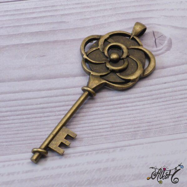 Kulcs medál alap (25mm) 3
