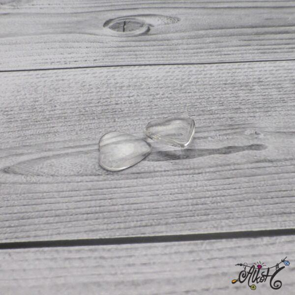 Üveglencse, szív - 20 mm 4