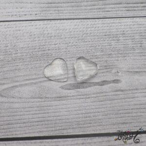 Üveglencse, szív – 20 mm