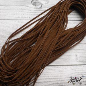 Velúr hatású szál – barna