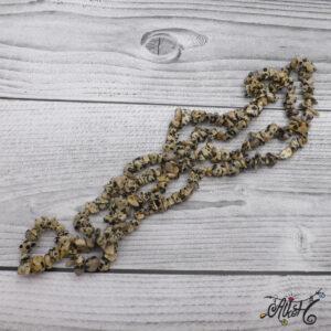 Ásványfüzér – dalmata jáspis