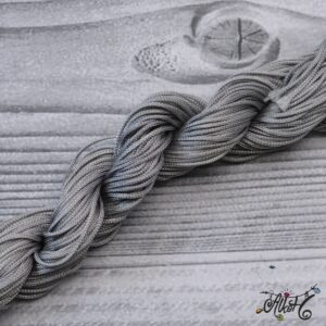 Selyemfényű zsinór -ezüstszürke