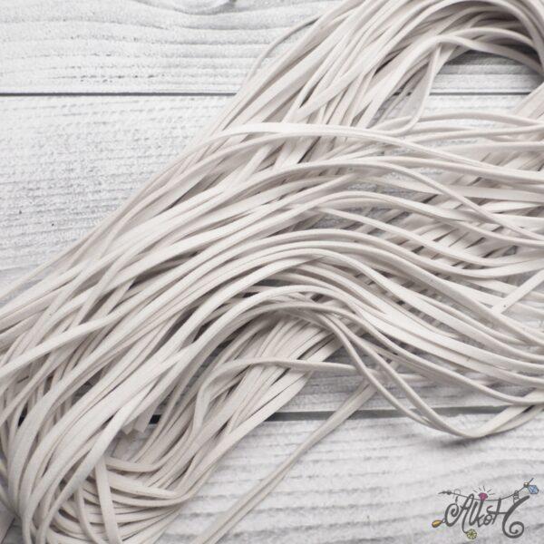 Velúr hatású szál - fehér 3
