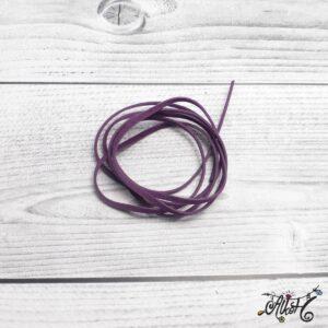 Velúr hatású szál – sötét lila