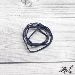 Velúr hatású szál – sötétkék