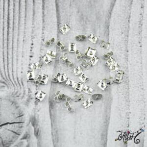 Fülbevaló rögzítő – ezüst 6