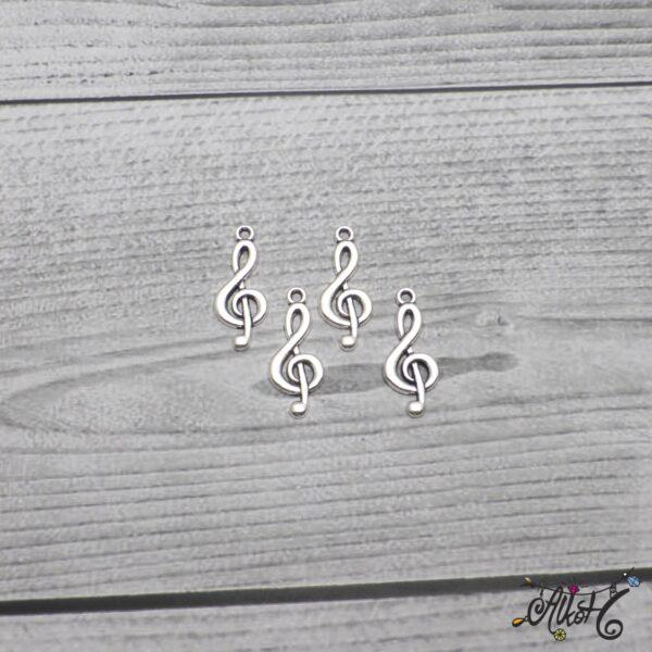 Violinkulcs fityegő, medál 4
