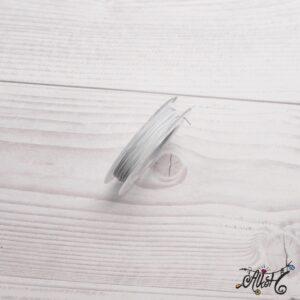 Színes tigrisbajusz 0,38mm – fehér (10m)