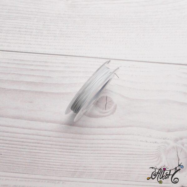 Színes tigrisbajusz 0,38mm - fehér (10m) 3