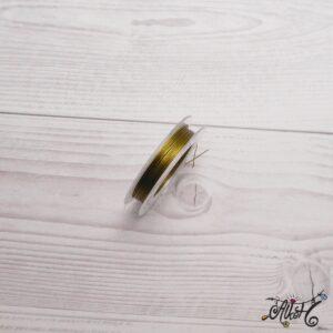 Színes tigrisbajusz 0,38mm – oliva (10m)