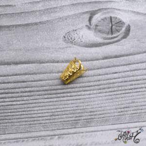 Kúpos gyöngykupak, végzáró – arany