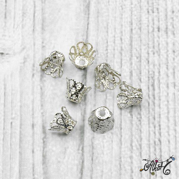 Harang alakú gyöngykupak - platina 4