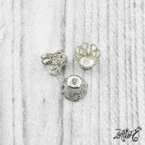 Harang alakú gyöngykupak – platina