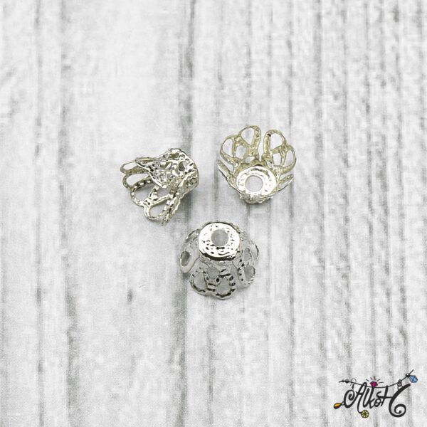 Harang alakú gyöngykupak - platina 3