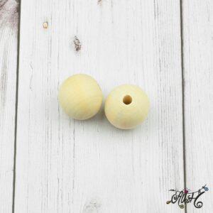 Fagolyó, natúr – 25mm