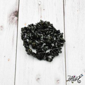 Ásványfüzér – fekete obszidián