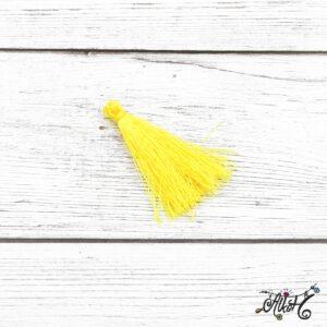 Selyem bojt – citromsárga