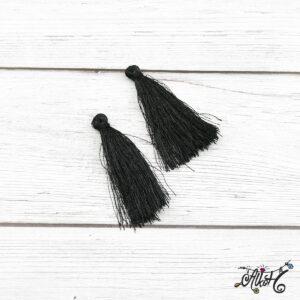 Selyem bojt – fekete