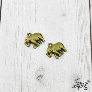 Elefánt fityegő, medál