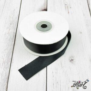 Szatén szalag 25mm – feket