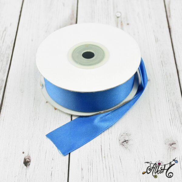Szatén szalag 25mm - kék 1