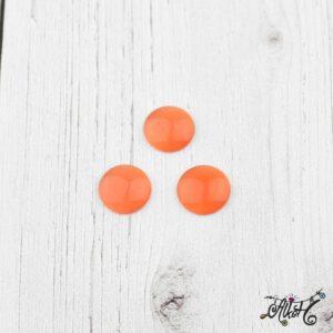 Üveglencse, 12 mm – piros