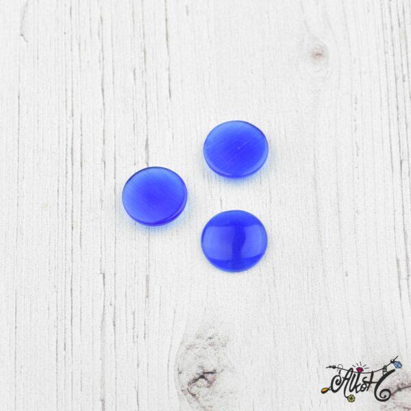 Üveglencse, 12 mm - kék 1