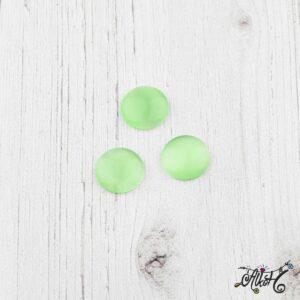 Üveglencse, 12 mm – zöld