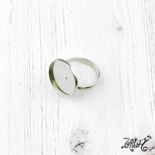 Orvosi fém gyűrű alap (18mm) 2