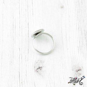 Orvosi fém gyűrű alap (12mm)