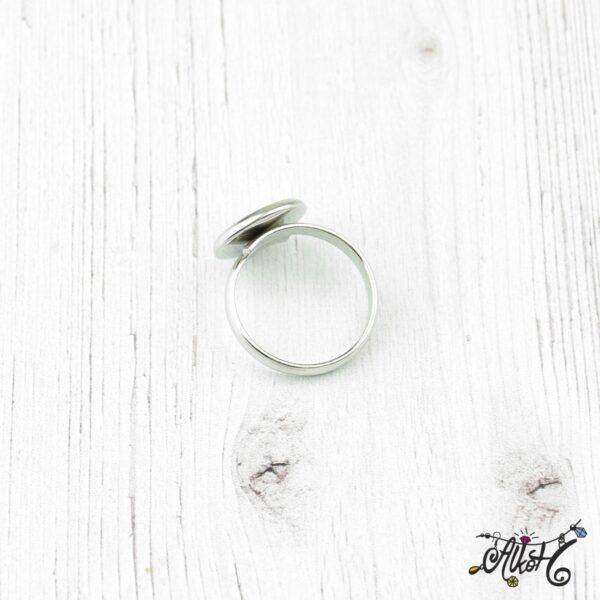 Orvosi fém gyűrű alap (12mm) 1