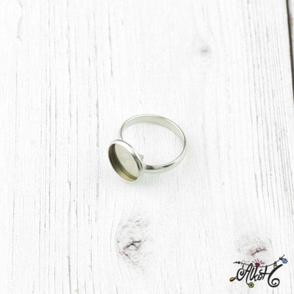Orvosi fém gyűrű alap (12mm) 2