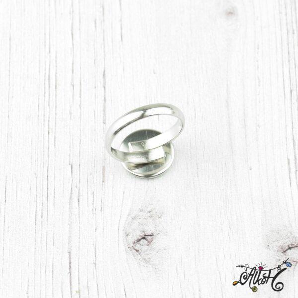 Orvosi fém gyűrű alap (12mm) 3