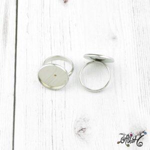 Orvosi fém gyűrű alap (18mm)