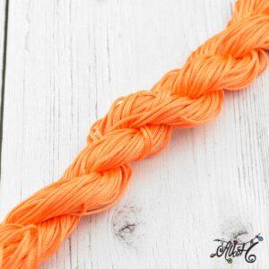 Selyemfényű zsinór – narancssárga