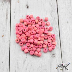 Rózsaszín henger fagyöngy csomag