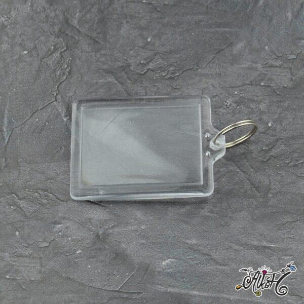 Plexi képtartós kulcstartó (nagy) 1