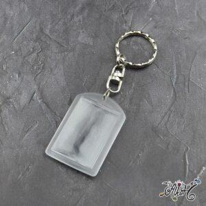 Plexi képtartós kulcstartó (kicsi)