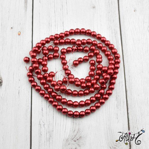 sotet-piros-teklagyongy-viaszgyongy-6mm