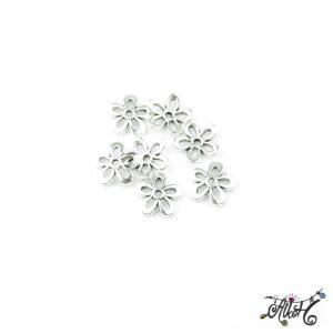 Tibeti ezüst gyöngykupak, ötszirmú virág