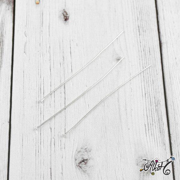 Szerelőpálca talpas – ezüst, 7 cm (20 db) 1