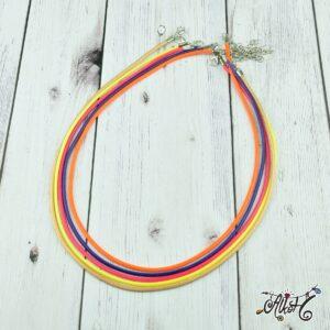 Viaszolt szál nyaklánc alap csomag – őszi mix (5db)