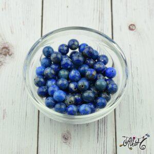 Lápisz lazuli ásványgyöngy 8 mm (10 db)