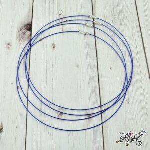 Sodrony nyaklánc alap – kék