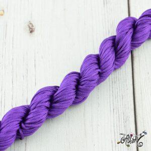 Selyemfényű zsinór – sötét lila